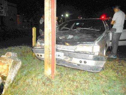 Esta madrugada: Accidente de tránsito en jurisdicción del partido de Suipacha
