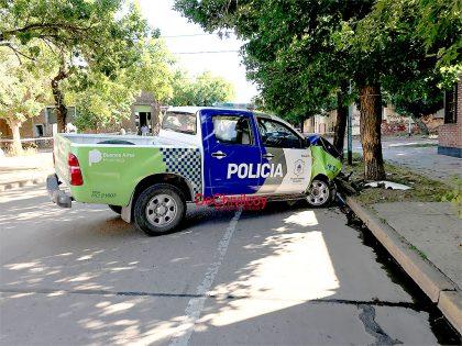 Choque del patrullero: La Policía instruye actuaciones caratuladas Lesiones Culposas