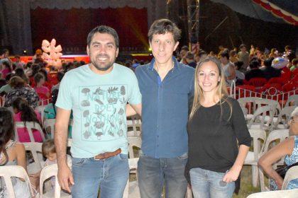 Niños de Chivilcoy vieron el show del Circo Rodas