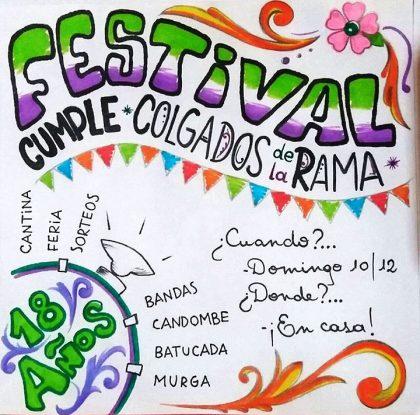 Ultimas días actividades del año del Centro Cultural y de la Murga Colgados de la Rama