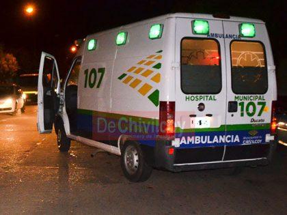 Chocaron tres motocicletas con heridos de variada consideración