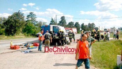 Comunicado de prensa de la Municipalidad de Chivilcoy con motivo del accidente sucedido esta tarde [ACTUALIZAMOS]
