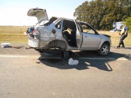 Un muerto y un herido de gravedad en accidente en Suipacha