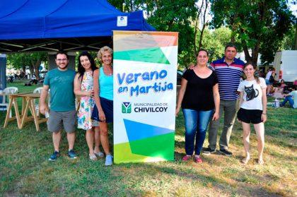 Gran concurrencia de vecinos a las actividades de verano en Martija