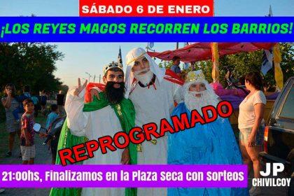 [REPROGRAMADO] La Juventud Peronista recorrerá los barrios de Chivilcoy junto a los Reyes Magos [Video]
