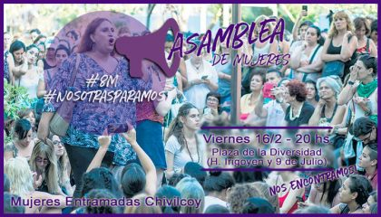 Asamblea de Mujeres rumbo al 8M
