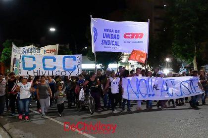#Marcha21F: Masiva movilización contra las políticas de ajuste en Chivilcoy [Videos]