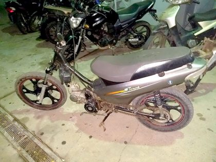 Recuperan una motocicleta con pedido de secuestro activo del mes de diciembre