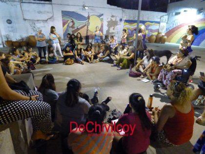 Mujeres de Chivilcoy se reunieron en asamblea para unificar las consignas que llevarán al paro del 8M