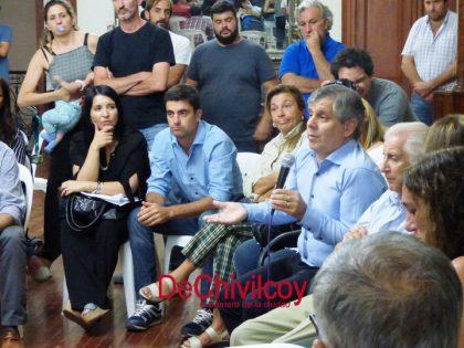 """Britos: """"le pido a ABSA, con todo respeto, que, si van a invertir 32 millones de pesos en Chivilcoy, inviertan en algo que solucione el problema"""""""