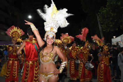 Segunda noche de carnaval en Chivilcoy