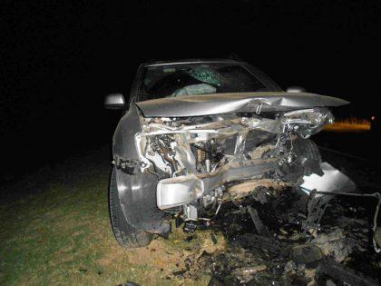 Violenta colisión sobre Ruta 43 y acceso a General Rivas, con heridos de gravedad