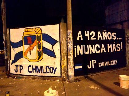 La JP realizó un mural por el Día de la Memoria por la Verdad y la Justicia