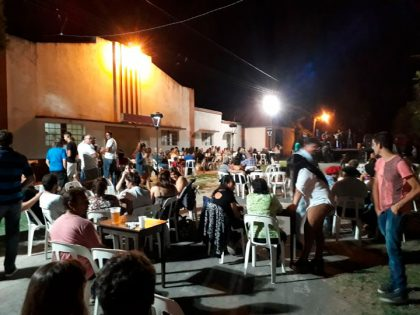 Baile cierre de carnaval en Ramón Biaus