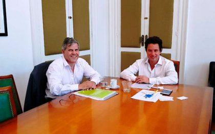 El Diputado Britos se reunió con el Ministro de Cultura y Educación bonaerense Gabriel Sánchez Zini