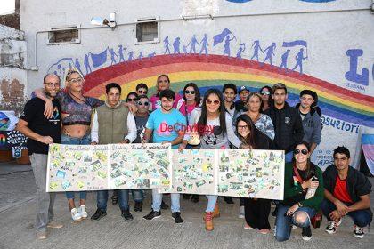 El colectivo LGBT celebró los cuatro años del Consultorio de la Diversidad