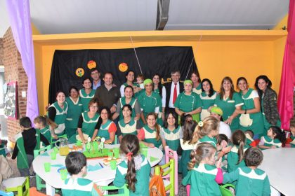 """El Jardín de Infantes Municipal """"Camilo Latapié"""" celebró su séptimo aniversario"""