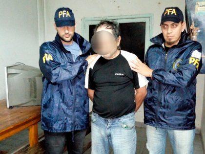 La Policía Federal Argentina detuvo a un hombre prófugo por homicidio