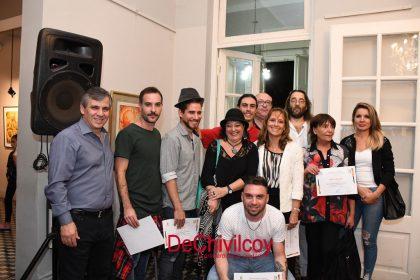 """Pompeo Boggio: Entregaron los premios del """"Salón de Octubre"""" y se realizó un reconocimiento a la artista plástica Martha Rocha"""