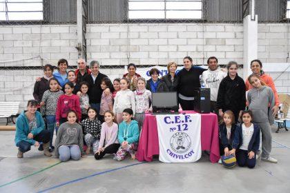 El intendente recorrió la finalización de la obra del CEF