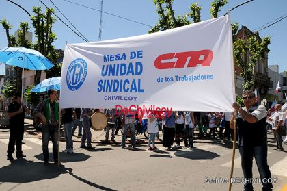 """""""Todos somos Paqueta"""", comunicado de la Mesa de Unidad Sindical Chivilcoy"""