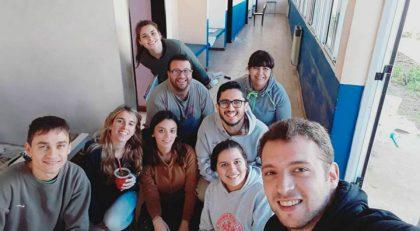 Unión de Jóvenes por Chivilcoy pintó el CIC Sur