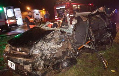 Falleció un remisero en grave accidente en la Ruta 5 en cercanías de Suipacha