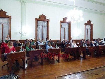 Tasas municipales: se aprobó el proyecto oficialista por 12 votos afirmativos [Video]