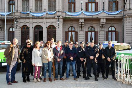 Se presentaron nuevos móviles para la Policía Comunal y la Patrulla Rural de Chivilcoy