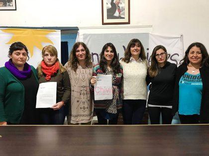 """Unidad Ciudadana presento al """"Frente de Mujeres"""" con un proyecto de ordenanza local [Video]"""