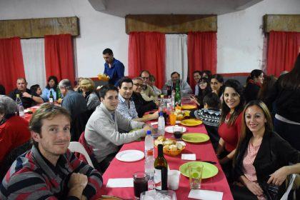 Cena Show en el Club Juventud Unida de Gorostiaga
