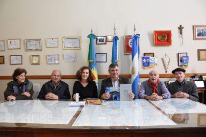 El intendente recibió a Sara Pagola Aizpiri, delegada de Euskadi en Argentina