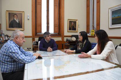 Reunión por el convenio de colaboración del Municipio hacia la Escuela de Servicio Social