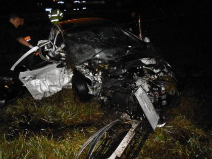 Tres muertos en violento choque sobre la Ruta 5