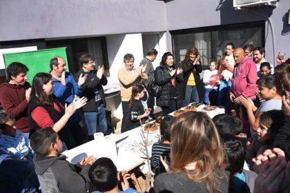 Festejo del Aniversario del SUM y del Día del Niño en el Barrio Blanco