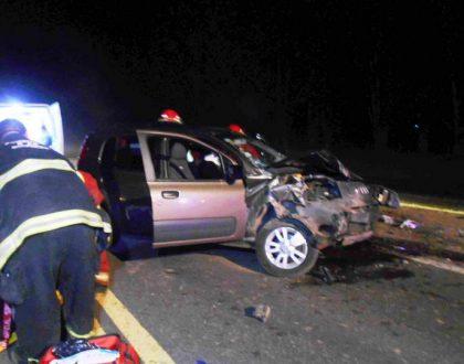 Un matrimonio de Chivilcoy participó en un violento choque sobre Ruta 5